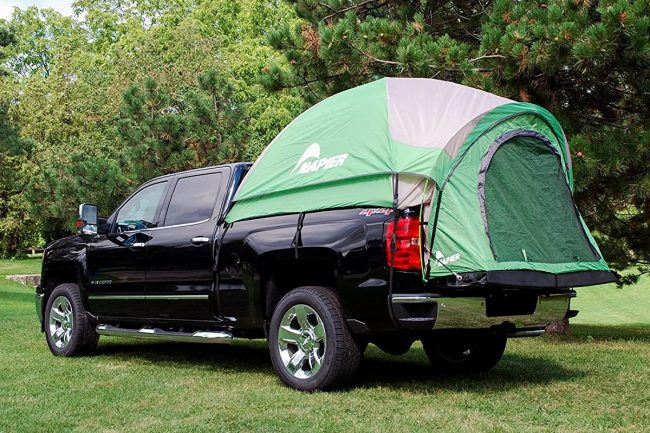 The-5-Best-Bed Tents-for-Silverados - napier-backroadz-truck-tent-silverado